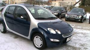2005 smart forfour pulse 1 1i full review start up engine and in