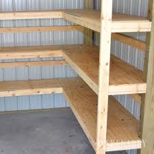 Wooden Shelves Diy by 25 Best Shed Shelving Ideas On Pinterest Tool Shed Organizing