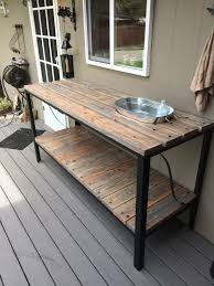 Patio Buffet Server by Outdoor Buffet Table My Projects Pinterest Outdoor Buffet