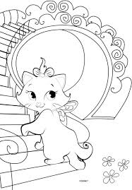 19 coloring pages aristocats images