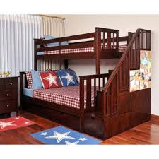 costco colin staircase bunk bed kid room ideas pinterest