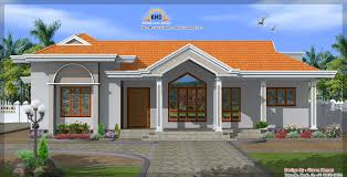 Kerala Style House Plans Single Floor by Beautiful Single Floor House Elevation Kerala Home Building