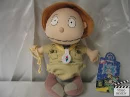 safari tommy rugrats movie mini plush doll applause ebay