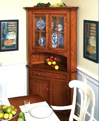 corner kitchen hutch furniture built in corner hutch image for free corner hutch cabinet