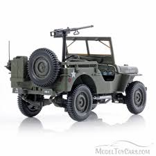 willys army jeep 1942 military vehicle us army green norev 189011 1 18 scale