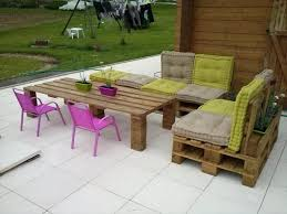 furniture stunning pallet outdoor dining table made from long