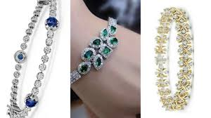 bracelet design diamond images Stylish bracelets designs beautiful gold diamond bracelet jpg