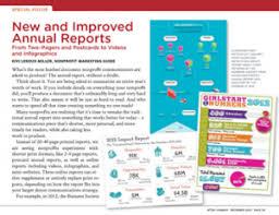 image gallery non profit annual report templates