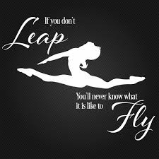 if you don t leap ballet gymnastic vinyl wall sticker saying if you don t leap ballet gymnastic vinyl wall sticker saying inspire words dance