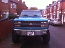 chevrolet blazer monster truck sold 1991 car classic uk