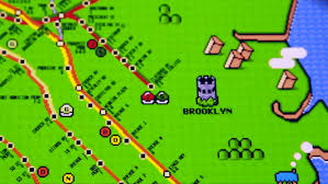 Brooklyn Subway Map by The U0027super Mario U0027 Nyc Subway Map Animal
