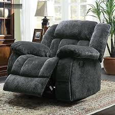 slipcovers for lazy boy chairs grey microfiber big rocker glider recliner lazy boy chair seat
