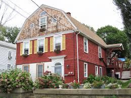 Gambrel Roof Design Colonial Architecture