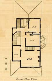 1878 prints cottage architectural design floor plan victorian