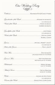 program wedding template church program template cyberuse