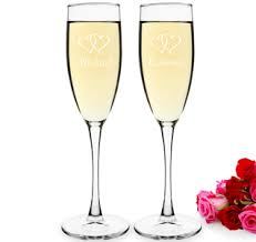personalized glasses wedding wedding glasses wedding toasting glasses