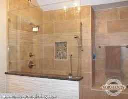 Walk In Shower Designs For Small Bathrooms Delighful Master Bathroom Showers Without Doors Ideas On Pinterest