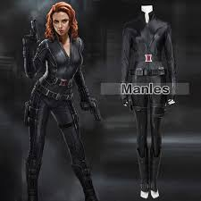 Halloween Costume Black Widow Aliexpress Buy Movie Avengers 1 Black Widow Natasha