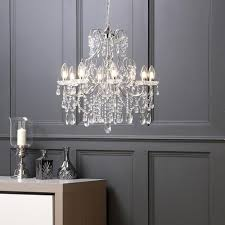 marquis by waterford annalee led 8 light bathroom chandelier