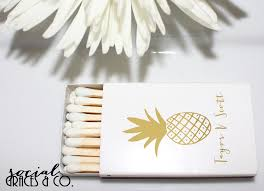 wedding matchboxes party like a pineapple wedding matchboxes social graces co