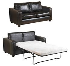 Brown Leather Sofa Bed Sofas Designer Leather Garbo