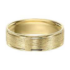 gold wedding band mens men s 6 0mm brushed wedding band in 10k gold possibility for kyle