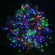 String Christmas Tree Lights by Led Christmas Tree Lights Christmas Lights Decoration