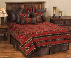 American Duvet Covers Southwestern Bedding Southern Creek Rustic Furnishings