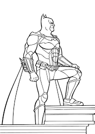 free printable batman coloring pages dc superhero 95381