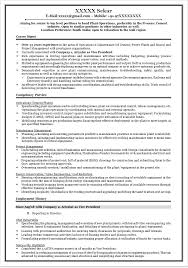 Mechanical Production Engineer Resume Download Cement Process Engineer Sample Resume