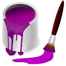 of purple clipart