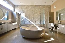 A Wild Brazilian Stone In An American Bathroom Stoneideascom - American bathroom design