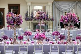 Purple Wedding Decorations Wedding Decoration Ideas Table Purple And Silver Wedding