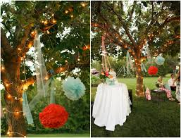 and colorful backyard wedding rustic wedding chic