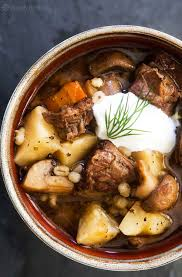 Stew Ideas Beef And Barley Stew With Mushrooms Recipe Simplyrecipes Com
