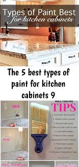 what type of paint brush for kitchen cabinets the 5 best types of paint for kitchen cabinets 9 painting