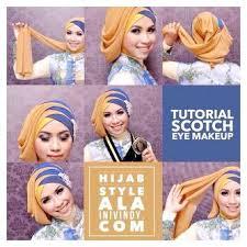 tutorial makeup natural wisuda ini vindy tutorial ajaib yang make up natural dan hijab wisuda ala