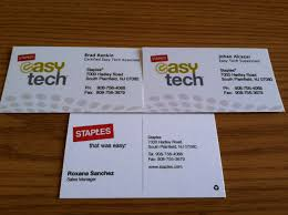 resume paper staples business card collector staples south plainfield nj business cards another three cards including the last one of an employee who was not listed as someone who works there anymore that s a real score in my book