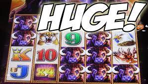 super big win on the 5 dragons good fortune slot machine slot