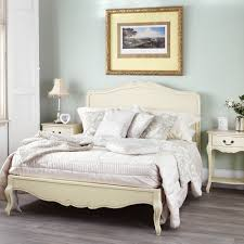 rochelle shabby chic champagne painted 6ft super king size bed