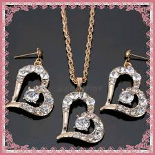 s day necklaces luxury s day jewelry sets earring necklace j1612005