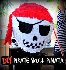 how to make a pirate skull party pinata birthday fun pinterest