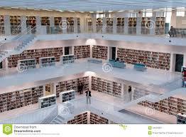 stuttgart city library stuttgart contemporary public library editorial photography