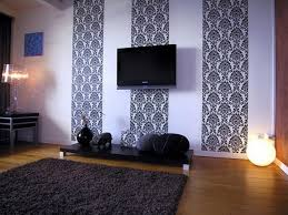 Wallpaper Living Room Ideas For Decorating Photo Of Nifty Living - Wallpaper living room ideas for decorating