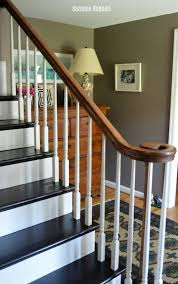 Gel Stain Banister General Finishes Dark Chocolate Milk Paint Makeover