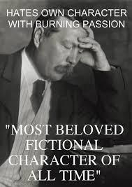 Sherlock Holmes Memes - disappointed sir arthur conan doyle addicted to sherlock holmes