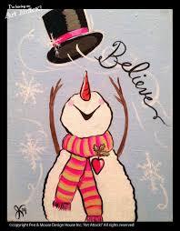 Flag Toms Light Crafts U Cute Christmas Paintings Winter Fingerprint Craft