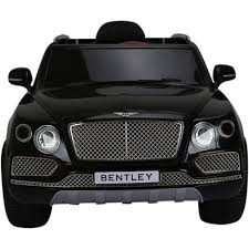 bentley white and black licensed bentley bentayga 12v children u0027s electric ride on jeep