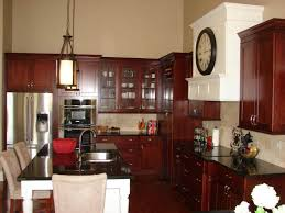 kitchen kitchen island pantry cabinet cherry cabinets cherry