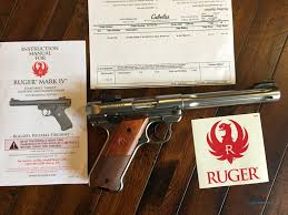 ruger mark iv 4 hunter stainless for sale